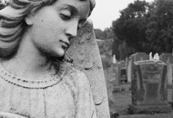 Angel headstone
