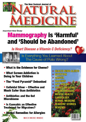 The NZ Journal of Natural Medicine Issue 19 Cover