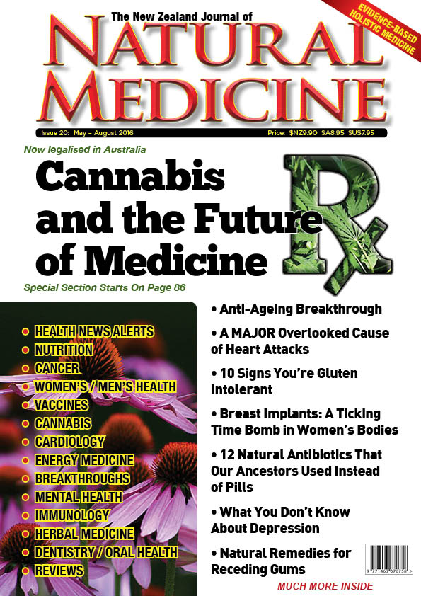 Issue 21 of The NZ Journal of Natural Medicine cover image